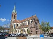 Kath. Kirche Saint-Étienne in Cernay, Frankreich