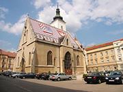 Katholische Kirche San Marco Zagreb Kroatien