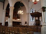 Protestantische Kirche Kruiningen Niederlande